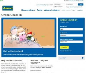 Skip the Line Alamo 7 online Checkin
